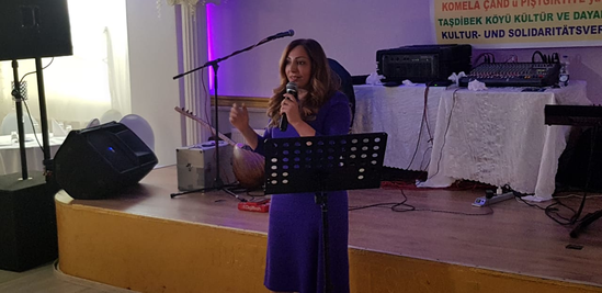 Empfang des Solidaritätsvereins Xirbaqub in Spandau