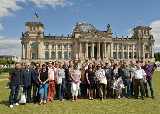 Besuch von Siemens GewerkschaftlerInnen