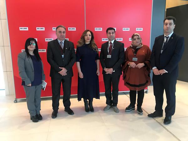 Delegation aus der Stadt Duhok zu Besuch im Bundestag