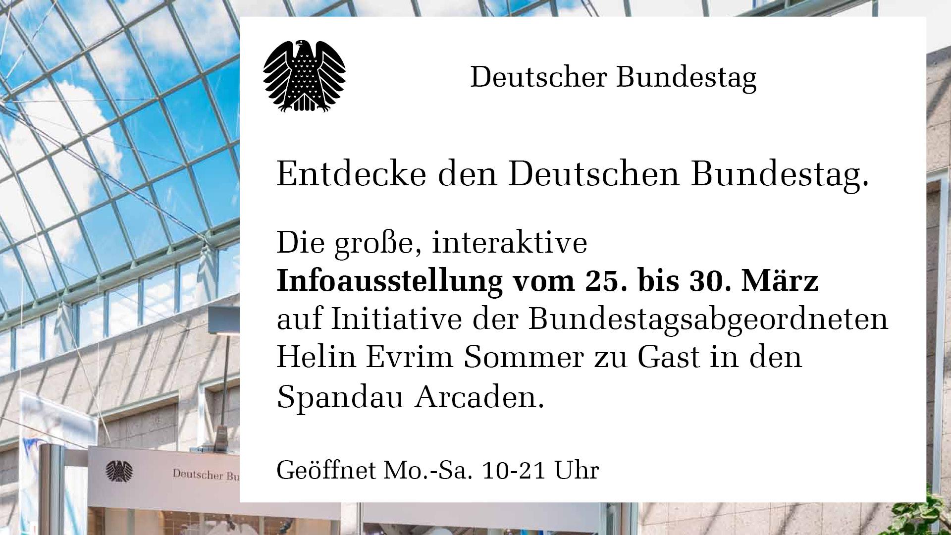 Einladung zur Wanderausstellung des Deutschen Bundestages