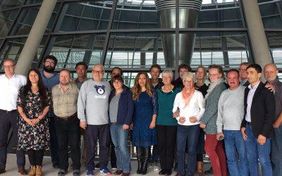 Besuch aus Charlottenburg-Wilmersdorf im Bundestag