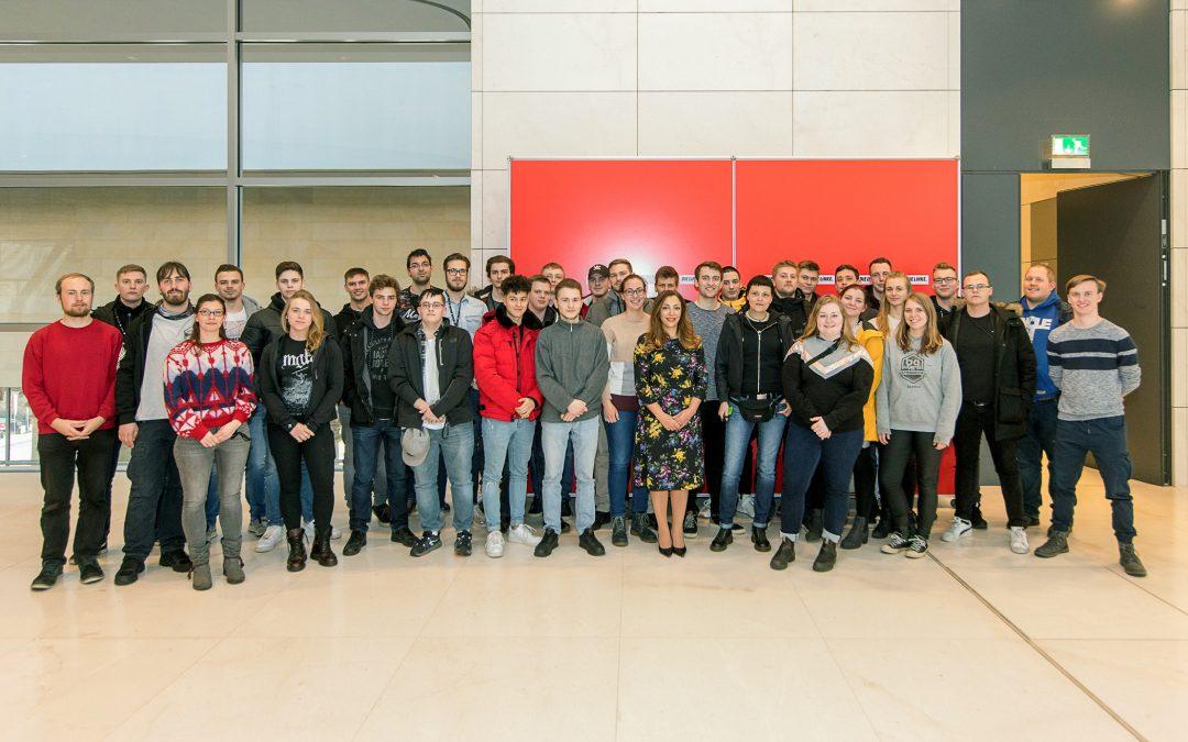 OSZ Bautechnik 1 zu Besuch im Bundestag