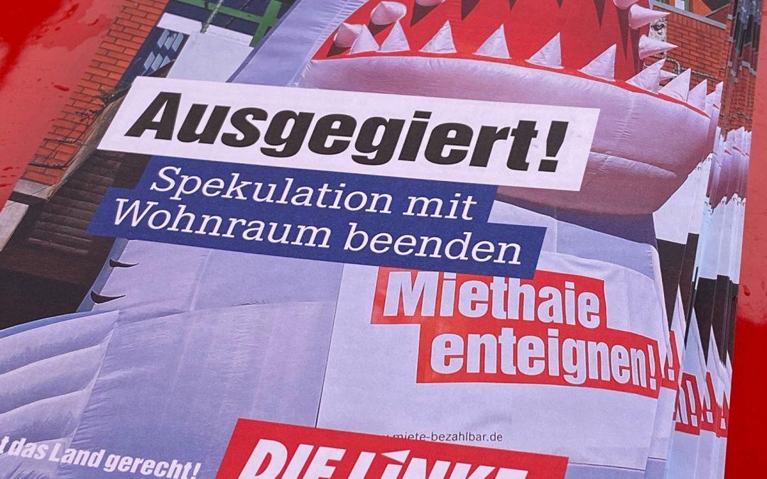 """Housing Action Day – """"Wohnen für Menschen statt für Profite!"""" Demonstration in Siemensstadt am 27. März 2021"""